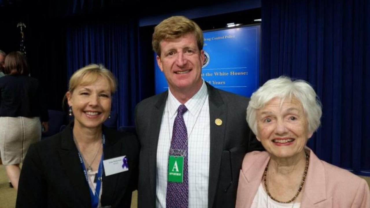 Patrick Kennedy at the White House for 25th Anniversary of National Recovery Month
