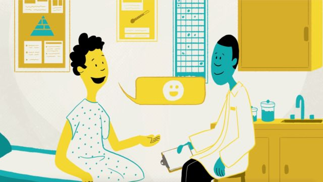 A doctor and patient discussing treatment options in the System We Need
